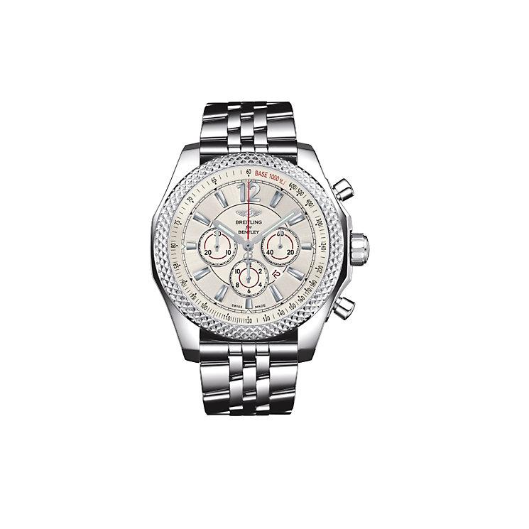 Breitling Bentley Barnato 42 men's steel bracelet watch - Product number 9585184