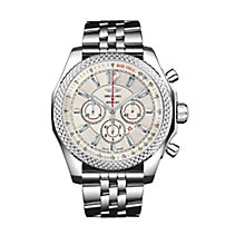 Breitling Bentley Barnato 42 men's steel bracelet watch - Product number 9585184