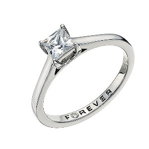 Forever Diamond Palladium 56pt Diamond Ring - Product number 9593128