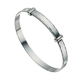 Children's Silver Expander Bangle - Product number 9596895