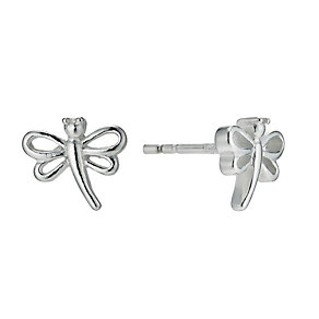 Silver Dragonfly Earrings - Product number 9598111
