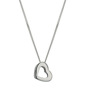 Silver Heart Pendant - Product number 9598162
