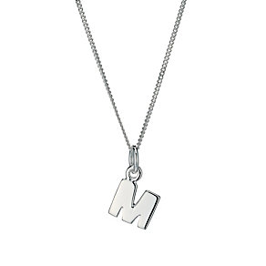 Sterling Silver Initial M Pendant - Product number 9598278