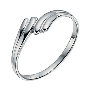 Sterling Silver Wing Ring Size P - Product number 9598596
