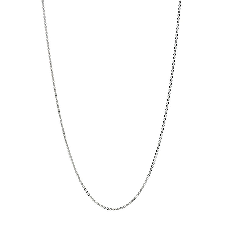 "Silver Light Belcher Chain Necklace 18"" - Product number 9599444"