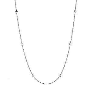 H Samuel Sterling Silver 18` Ball Chain product image
