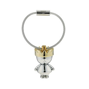 Stainless steel king keyring - Product number 9603840