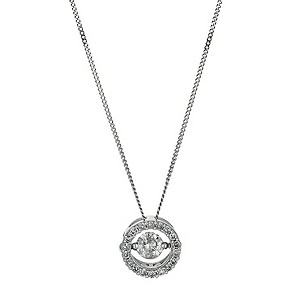 9ct white gold 1/2 carat diamond shimmers pendant - Product number 9610081