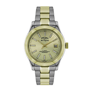 Rotary Men's Two Colour Bracelet Watch - Product number 9610170