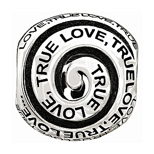 Chamilia silver True Love bead - Product number 9616799