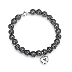 Silver Crystal Quartz Bracelet - Product number 9617124