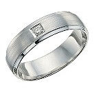 Silver & diamond ring - Product number 9618856