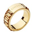 DKNY Stainless Steel & Gold-Plated Ring - Product number 9620613