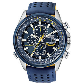 Exclusive Citizen Eco-Drive Blue Angels men's strap watch - Product number 9621709