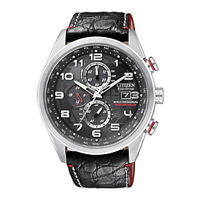 Limited edition Citizen Eco-Drive men's black strap watch - Product number 9621717