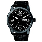 Citizen Eco Drive men's black ion plated strap watch - Product number 9621741