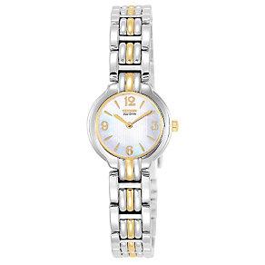 Citizen Eco-Drive ladies' two colour bracelet watch - Product number 9621806