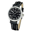 Fortis B-42 Flieger men's day/date black leather strap watch - Product number 9622284