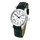 Fortis B-42 Flieger men's day/date white dial strap watch - Product number 9622365