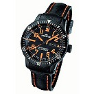 Fortis B-42 Marinemaster men's black and orange strap watch - Product number 9622675
