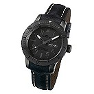 Fortis B-42 Black men's day/date strap watch - Product number 9622748