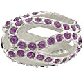 Chamilia - Sterling Silver Glistening Purple Crystal Bead - Product number 9627006