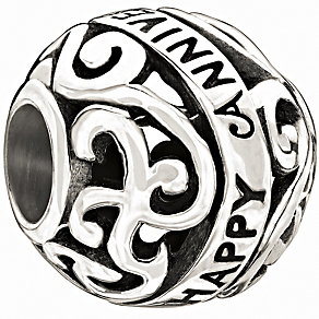 Chamilia - Sterling Silver 'Happy Anniversary' Bead - Product number 9627014