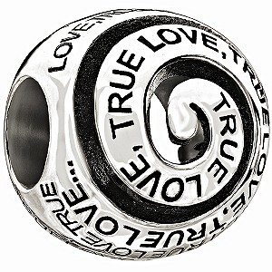 Chamilia - Sterling Silver 'True Love' Bead - Product number 9627030