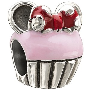 Chamilia - Sterling Silver Minnie Cupcake Bead - Product number 9627057