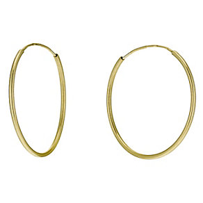 9ct Gold Sleeper Earrings - Product number 9628711