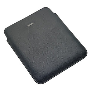 Hugo Boss Blinto black leather ipad case - Product number 9635505