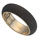 Pesavento polvere sterling silver bronze glitter bangle - Product number 9635602