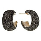 Pesavento Polvere Di Sogni bronze glitter hoop earrings - Product number 9635912