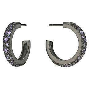 Pesavento sterling silver purple cz starsdust earrings - Product number 9636099