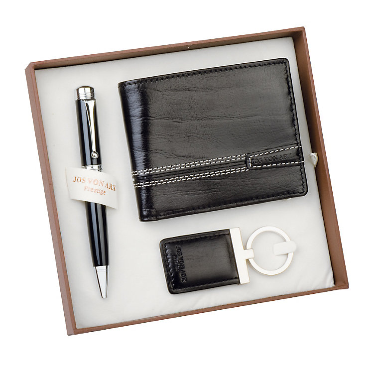 Jos Von Arx Wallet, Keyring & Pen Set - Product number 9642986