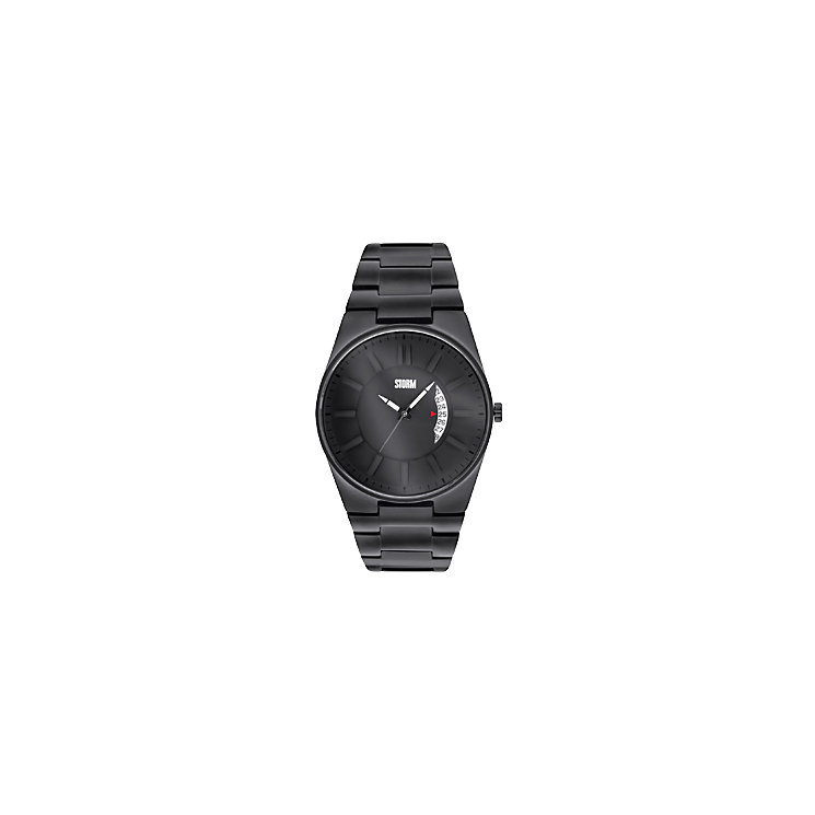 Storm Men's Blackout Strap Watch - Product number 9644687
