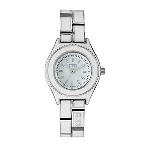 Storm Ladies' Mini-Kanti White Strap Watch - Product number 9644946