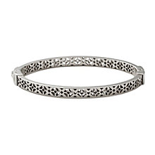 Fossil Stainless Steel Cutout Bangle - Product number 9645314