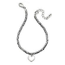 Fiorelli Hematite Bead & Heart Bracelet - Product number 9645578