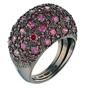 Pesavento sterling silver starsdust red cubic zirconia ring - Product number 9647120