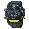 Pulsar Men's Yellow Digital Watch - Product number 9648666