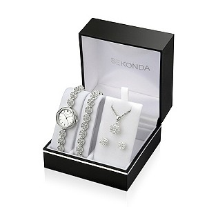 H samuel earring and necklace set