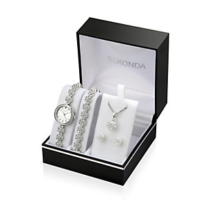 Sekonda Ladies' Watch, Bracelet, Necklace & Earring set - Product number 9649018