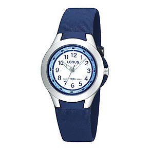 Kids' Blue Strap Watch - Product number 9649069