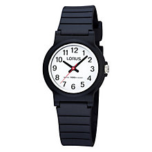 Kids' Black Strap Watch - Product number 9649085