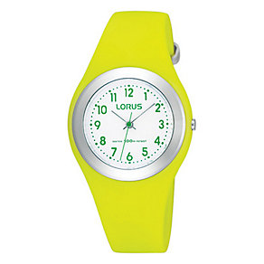 Kids' Green Strap Watch - Product number 9649115