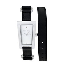 Nina Ricci Ladies' Stainless Steel Rectangle Watch - Product number 9649751