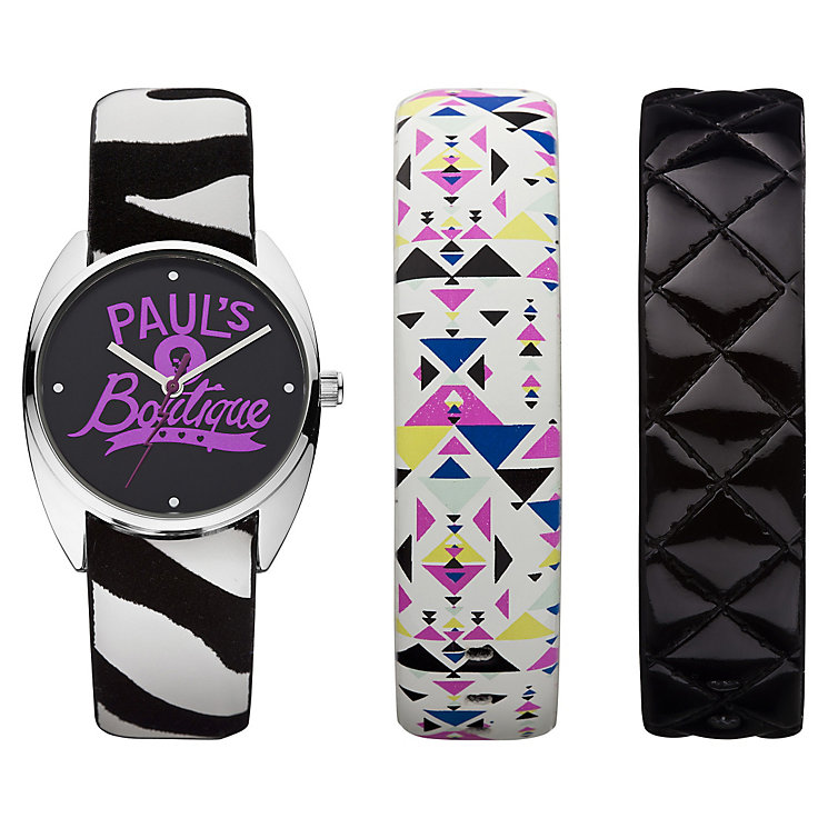 Exclusive Paul's Boutique Ladies' Logo Watch Box Set - Product number 9650652
