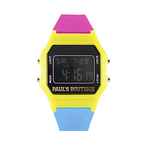 Paul's Boutique Ladies' Purple Strap Watch - Product number 9650709