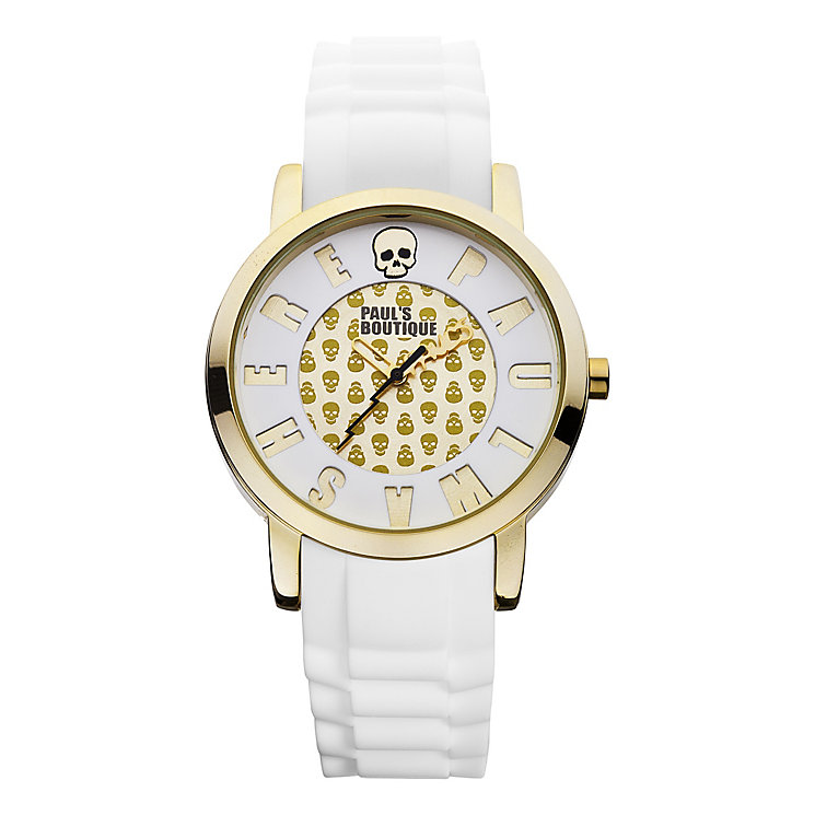 Paul's Boutique Ladies' Strap Watch With Skull Pattern Dial - Product number 9650717